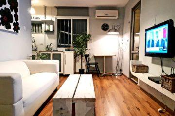 """בהרצל, בבנין מסודר, דירה שפוצלה ל-2 דירות, משופצות ומסוגננות, נוף. מחיר מבוקש: 750,000 ש""""ח"""